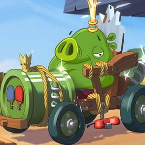 Angry Birds Pig Truck Game