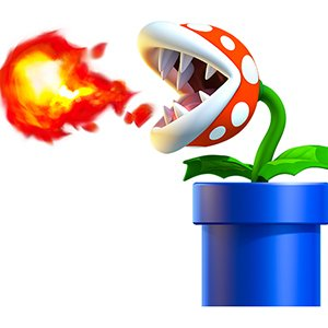 Angry Flower Mario Bros
