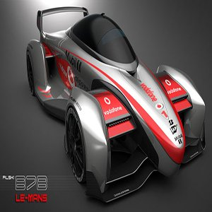 B7 Electric Super Racing Car