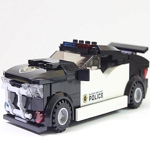 Bad Cops Police Car
