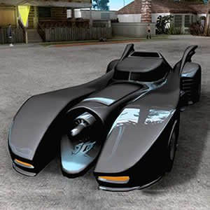 Batmobile Jigsaw Puzzle