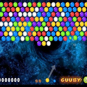 Bubble Shooter 6  Black Hole