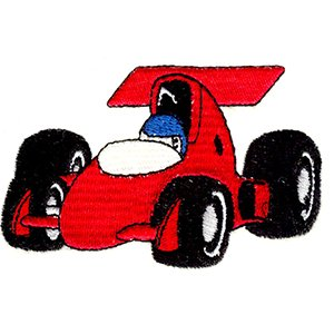 Cartoon Formula One Puzzle