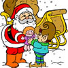 Christmas Gifts Coloring