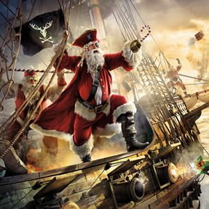 Christmas Santa Pirates