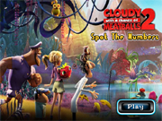 Cloudy with a chance of Meatballs 2 - Spot the Numbers