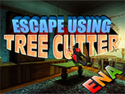 Escape using Tree Cutter