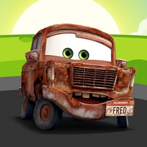 Fred Cars Puzzle