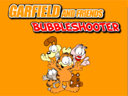 Garfield and Friends Bubble Shooter