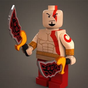 God of War Lego Puzzle