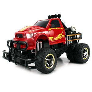 Jungle Fire Monster Truck Jigsaw