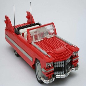 Lego Retro Car Puzzle Game
