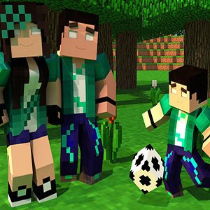 Minecraft Football Time Puzzle