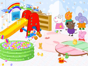 Peppa Pig Playroom Decoration