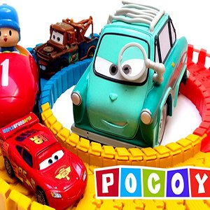 Pocoyo Race Truck Cars