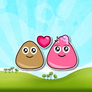 Pou Adventure Time Game