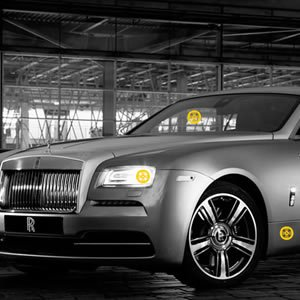 Rolls Royce Hidden Tires