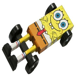 Spongebob Pinewood Car