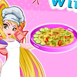 Winx Flora Greek Pita Pizzas