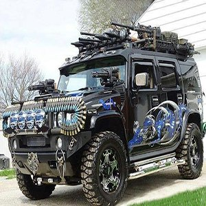Zombie Survival Jeep